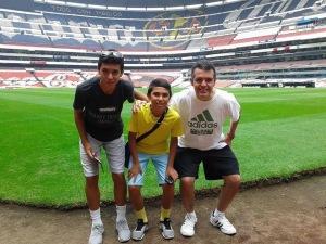 Estadio Azteca https://en.wikipedia.org/wiki/Estadio_Azteca